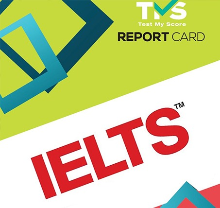 practice for your IELTS test online with test my score